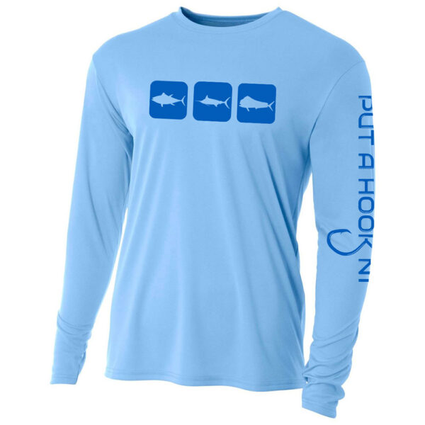 n1-outdoors-performance-fishing-shirt-triblock-blue-front