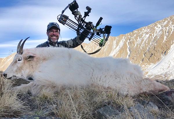 John Lusk archery goat