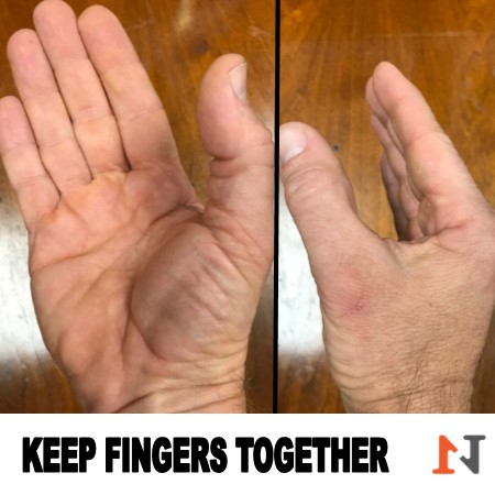 hand placement when noodling