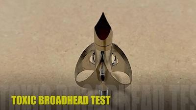 toxic broadhead test