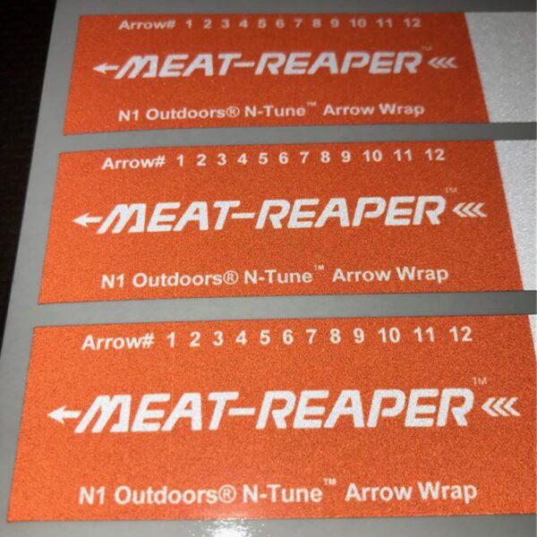 n1 outdoors n-tune arrow wrap meat reaper