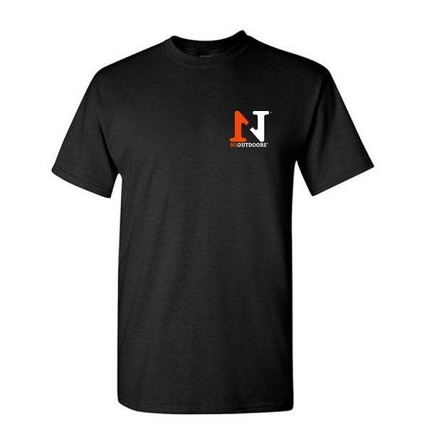 N1 outdoors flagship tee front black