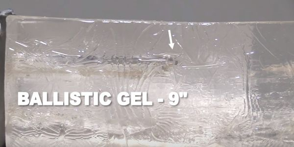 muzzy trocar penetrating ballistic gel