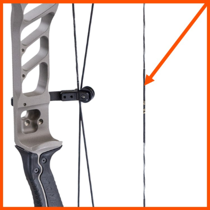 string on compound bow